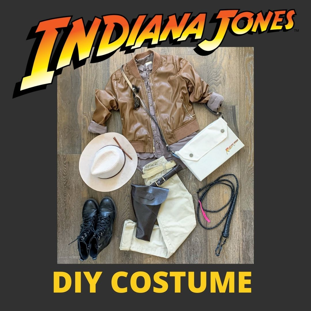 Indiana Jones DIY Costume