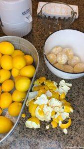 Peel lemons
