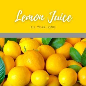 """Fresh"" Lemon Juice All Year Long"